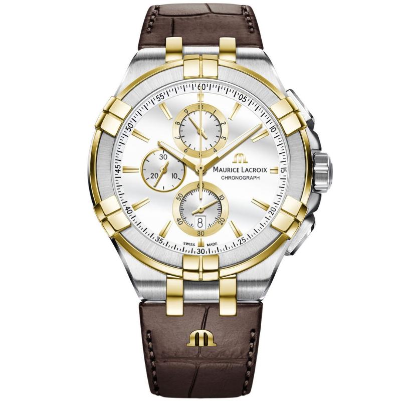 maurice lacroix aikon chronograph 44mm ai1018-pvy11-132-1