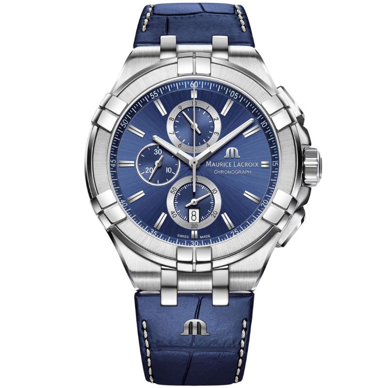 maurice lacroix aikon chronograph 44mm ai1018-ss001-430-1