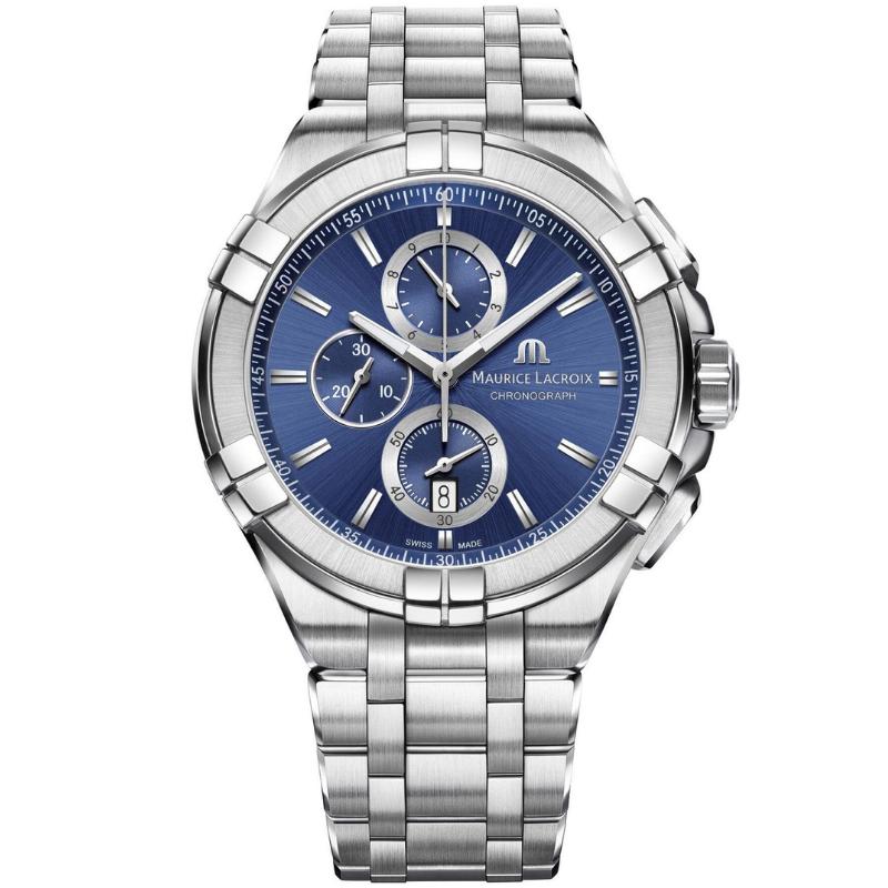 maurice lacroix aikon chronograph 44mm ai1018-ss002-430-1