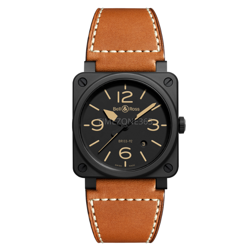 bell & ross br 03-92 heritage br0392-heritage-ce