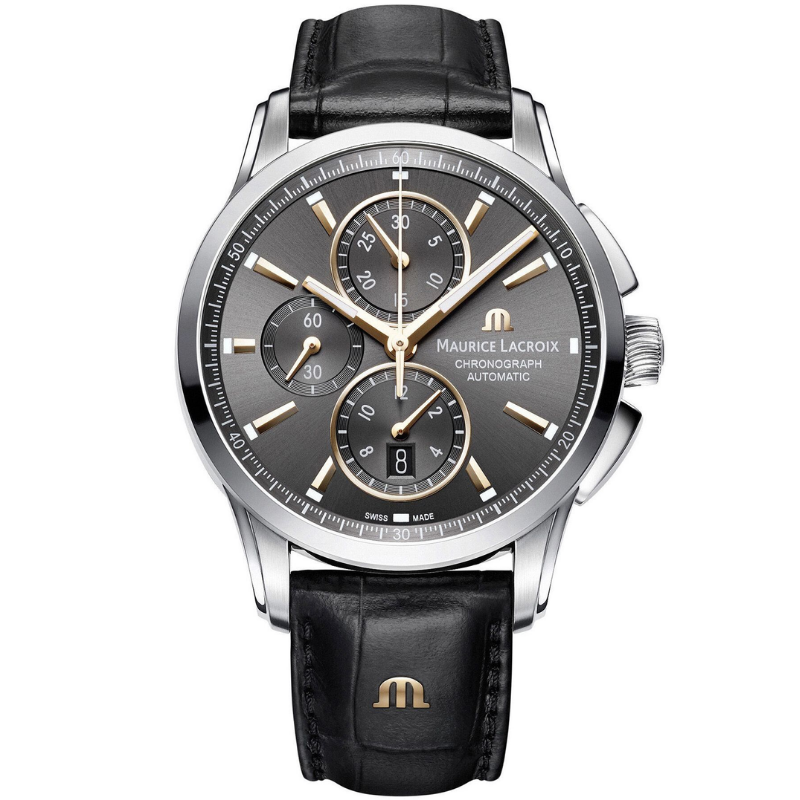 maurice lacroix pontos chronograph 43mm pt6388-ss001-331-1