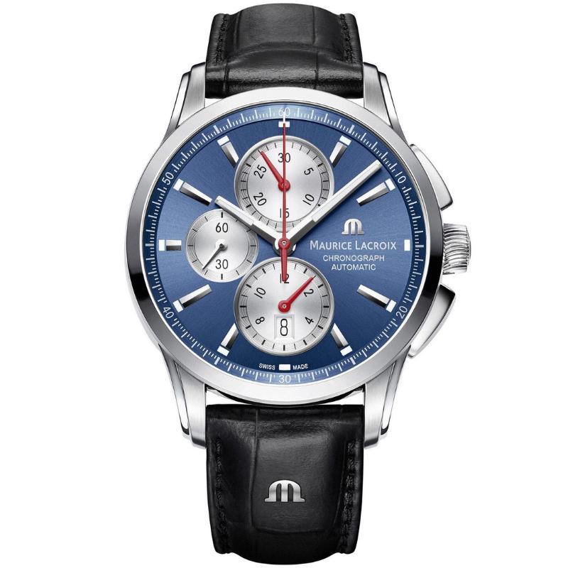 maurice lacroix pontos chronograph 43mm pt6388-ss001-430-1