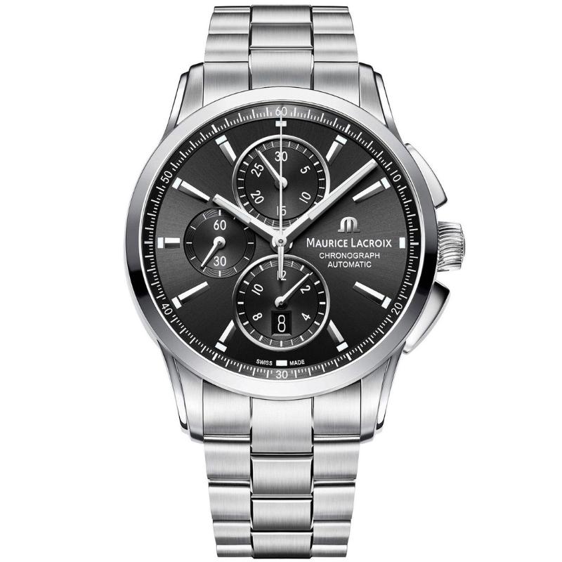 maurice lacroix pontos chronograph 43mm pt6388-ss002-330-1